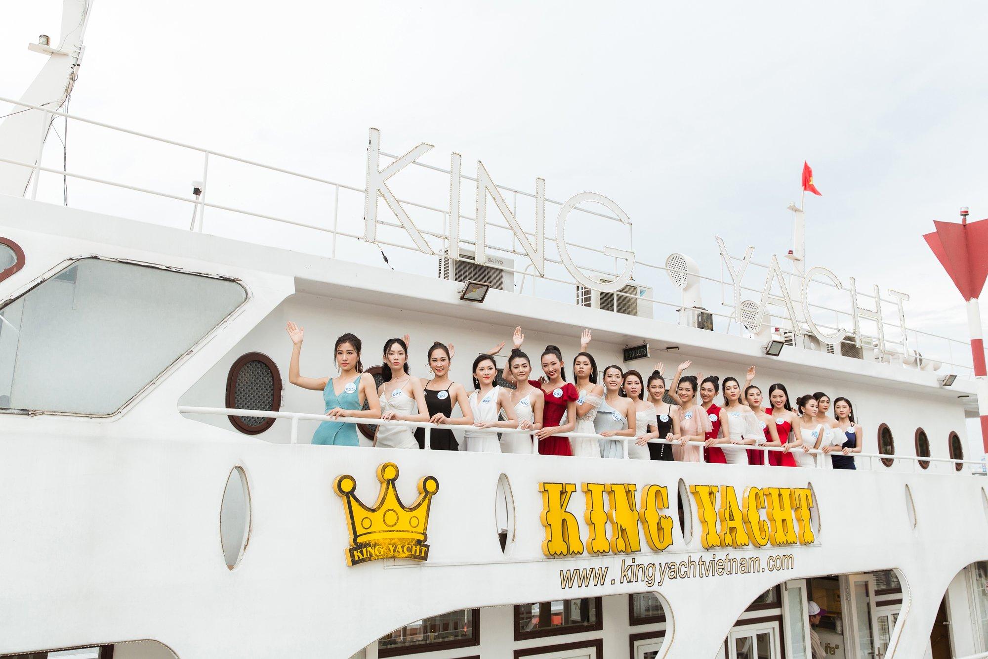King Yacht Cruise đồng hành cùng Miss World Việt Nam 2019