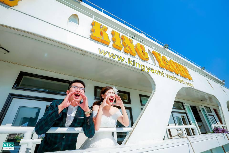 Đám cưới trên du thuyền King Yacht